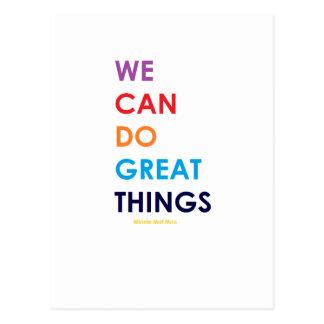 Carte Postale Nous pouvons faire de grandes choses