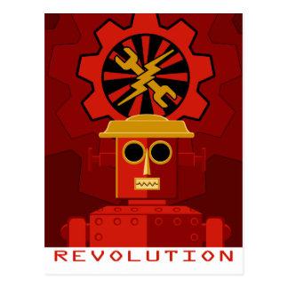 Carte Postale Nous sommes les robots