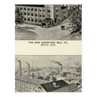Carte Postale Nouveau départ Bell Co, couverts Co de Miller Bros