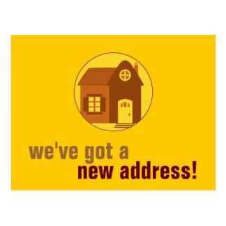 Carte Postale Nouvelle adresse : Personnalisable