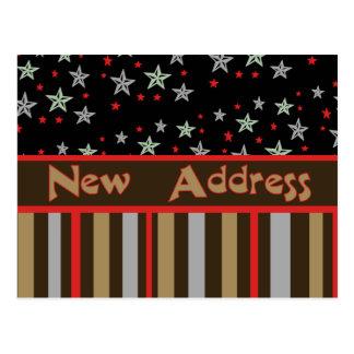 Carte Postale Nouvelle bannière étoilée d'adresse