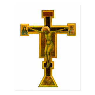 Carte Postale Nouvelle de Firenze Santa Maria, crucifix