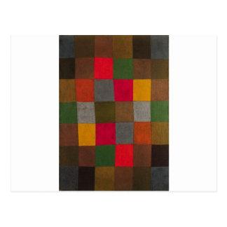 Carte Postale Nouvelle harmonie par Paul Klee