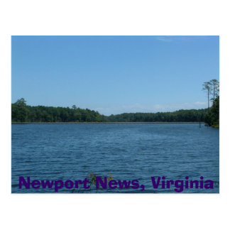 Carte Postale Nouvelles de Newport, la Virginie