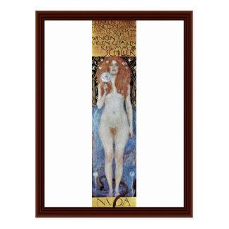 Carte Postale Nuda Veritas par Klimt Gustav