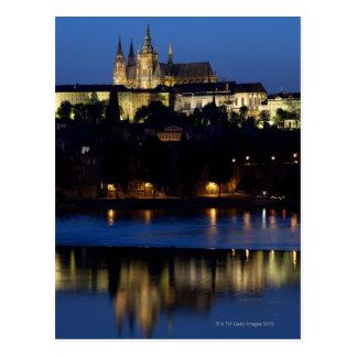 Carte Postale Nuit à Prague, République Tchèque
