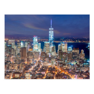 Carte Postale Nuit de Manhattan