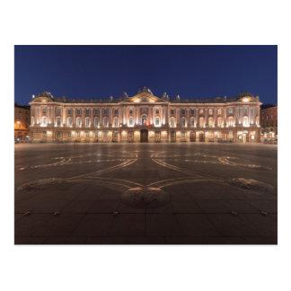 Carte Postale Nuit de Toulouse Capitole