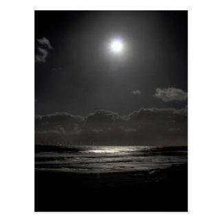 Carte Postale Nuit éclairée par la lune