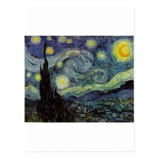 Carte Postale Nuit étoilée - Van Gogh