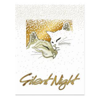 Carte Postale Nuit silencieuse