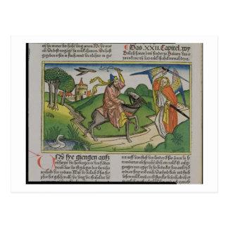 Carte Postale Numéros 22 âne parlant de 20-35 Balaam, du 'N