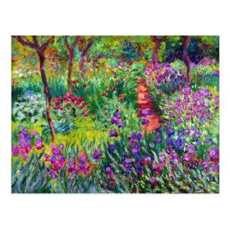 Carte postale nuptiale d impressionisme de jardin
