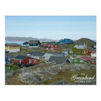 Carte Postale Nuuk