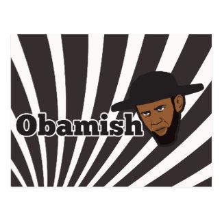 Carte Postale Obama amish