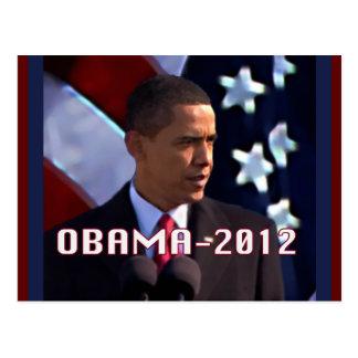 Carte Postale Obama en novembre 2012