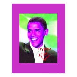 Carte Postale ObamaHype