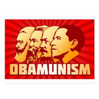 Carte Postale Obamunism