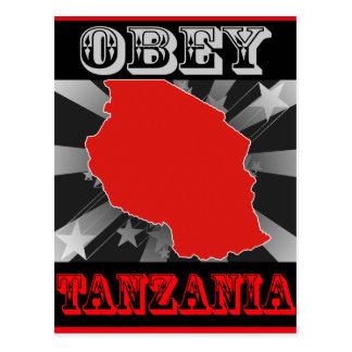 Carte Postale Obéissez la Tanzanie