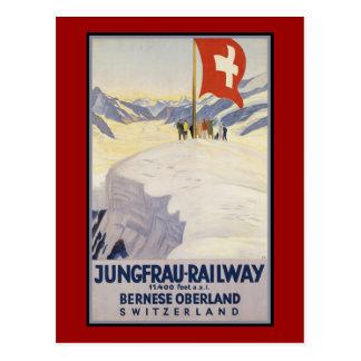 Carte Postale Oberland de Bernese de Jungfrau-Chemin de fer