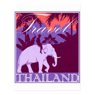Carte Postale Objet superflu de la Thaïlande de voyage