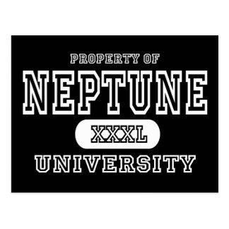Carte Postale Obscurité d'université de Neptune