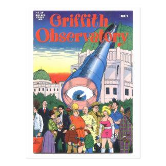 """Carte Postale Observatoire"""" #1, 1979 """"de Griffith"""