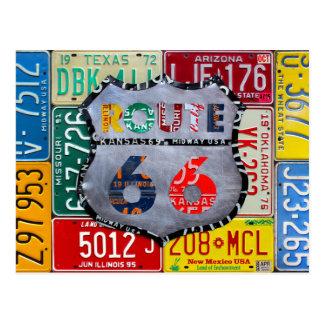 Carte Postale Obtenez vos éruptions sur l'art de plaque
