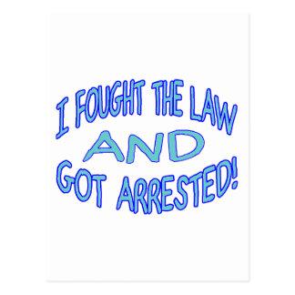 Carte Postale Obtiennent arrêtés