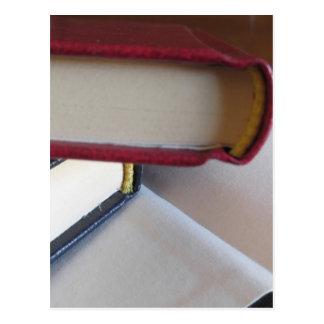 Carte Postale Occasion réserve avec les pages vides sur une