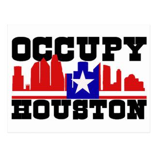 Carte Postale Occupez Houston