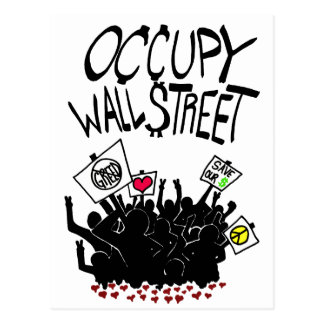 Carte Postale Occupez la protestation de Wall Street