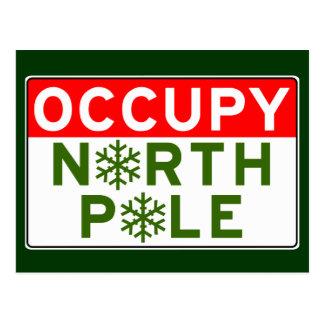 Carte Postale Occupez le Pôle Nord