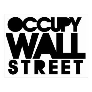 Carte Postale Occupez Wall Street
