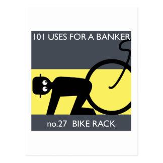 Carte Postale occupez Wall Street - prenez votre vélo !