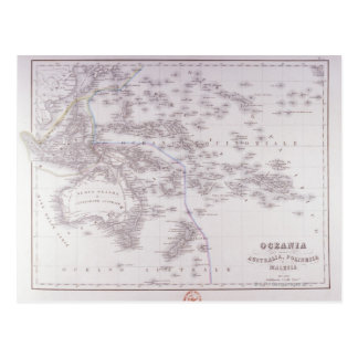 Carte Postale Océanie (Australie, Polynésie, et Malaisie)
