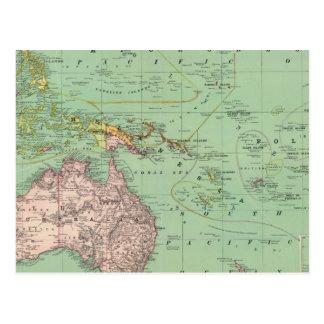 Carte Postale Océanie, Malaisie