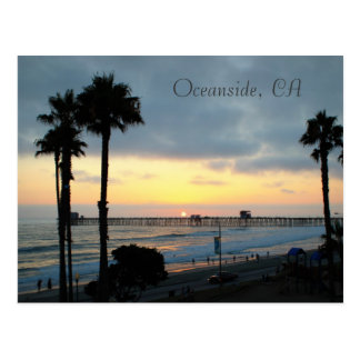 Carte Postale Oceanside, CA