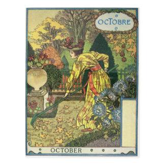 Carte Postale Octobre