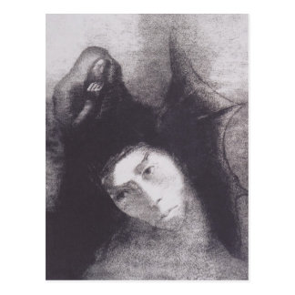 Carte Postale Odilon Redon- Anthony : Le diable