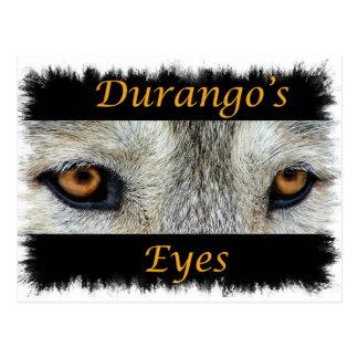 Carte Postale Oeil de Durango (DÉCHIRURE)