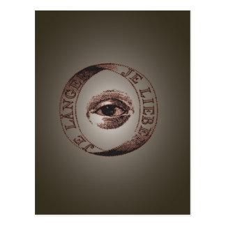 Carte Postale Oeil d'Illuminati