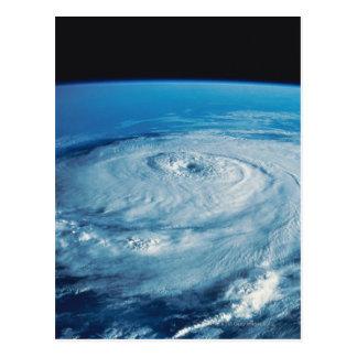 Carte Postale Oeil d'un ouragan
