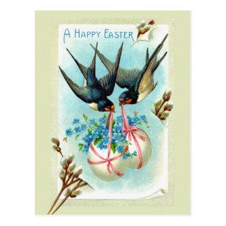 Carte Postale Oiseaux de Pâques