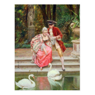 Carte Postale Oiseaux gracieux - Soulacroix