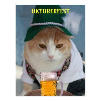 Carte Postale Oktoberfest