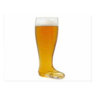 Carte Postale oktoberfest-verre-bière-botte