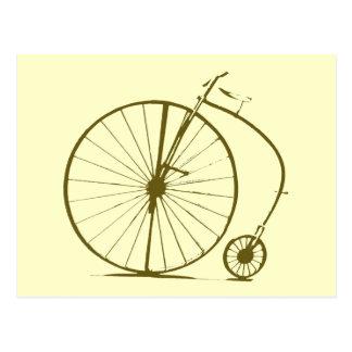 Carte Postale Old-bike/cycle