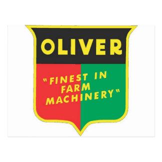 Carte Postale Oliver