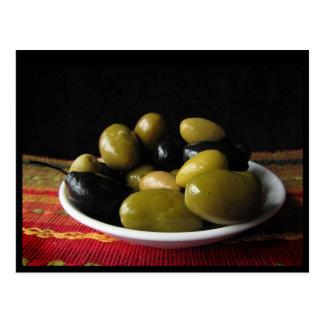 Carte Postale Olives